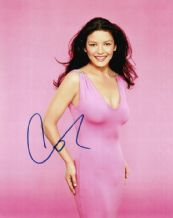 Catherine Zeta Jones Autograph Signed Photo